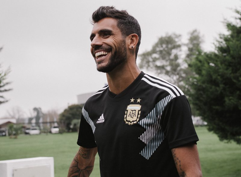 Argentina 2018 World Cup Adidas Home Away Kit