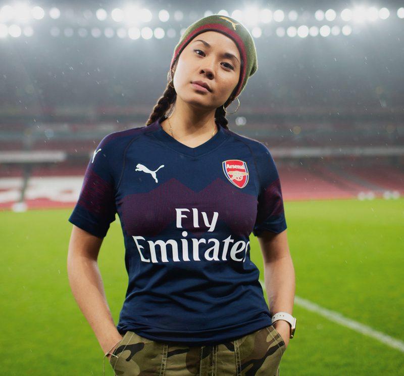 abc545334 Arsenal 2018-19 Puma Away Kit Football Shirt