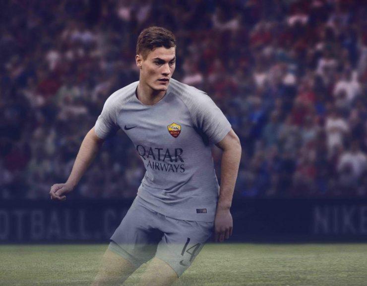 AS Roma 2018-19 Nike Away Kit Football Shirt