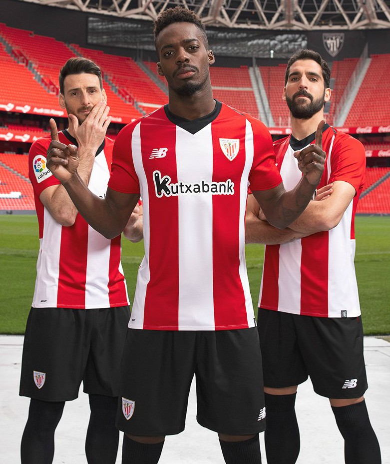 0d6bce00721 Athletic Bilbao 2018-19 New Balance Home And Away Kit