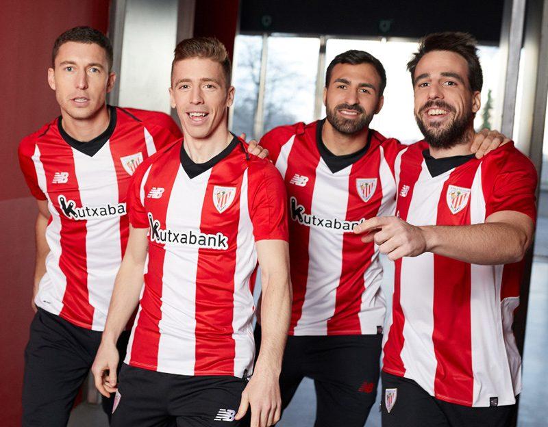 06386814e69 Athletic Bilbao 2018-19 New Balance Home Kit Football Shirts