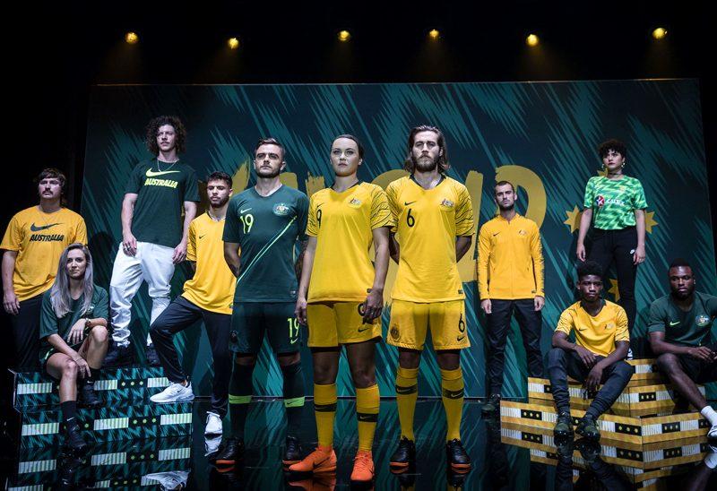 Australia 2018 World Cup Nike Home Away Kit