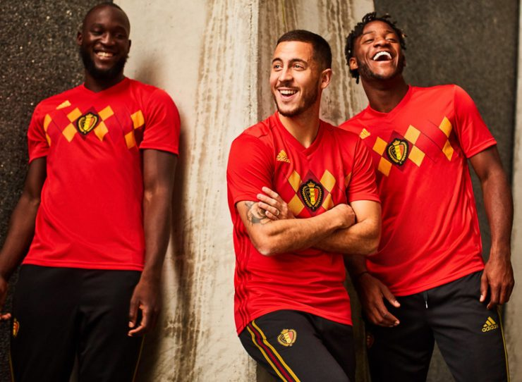 Belgium 2018 World Cup Adidas Home Away Kit