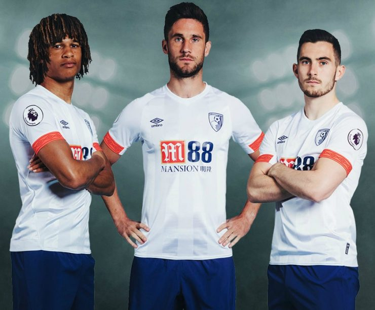 Bournemouth 2018-19 Umbro Away Kit Football Shirt
