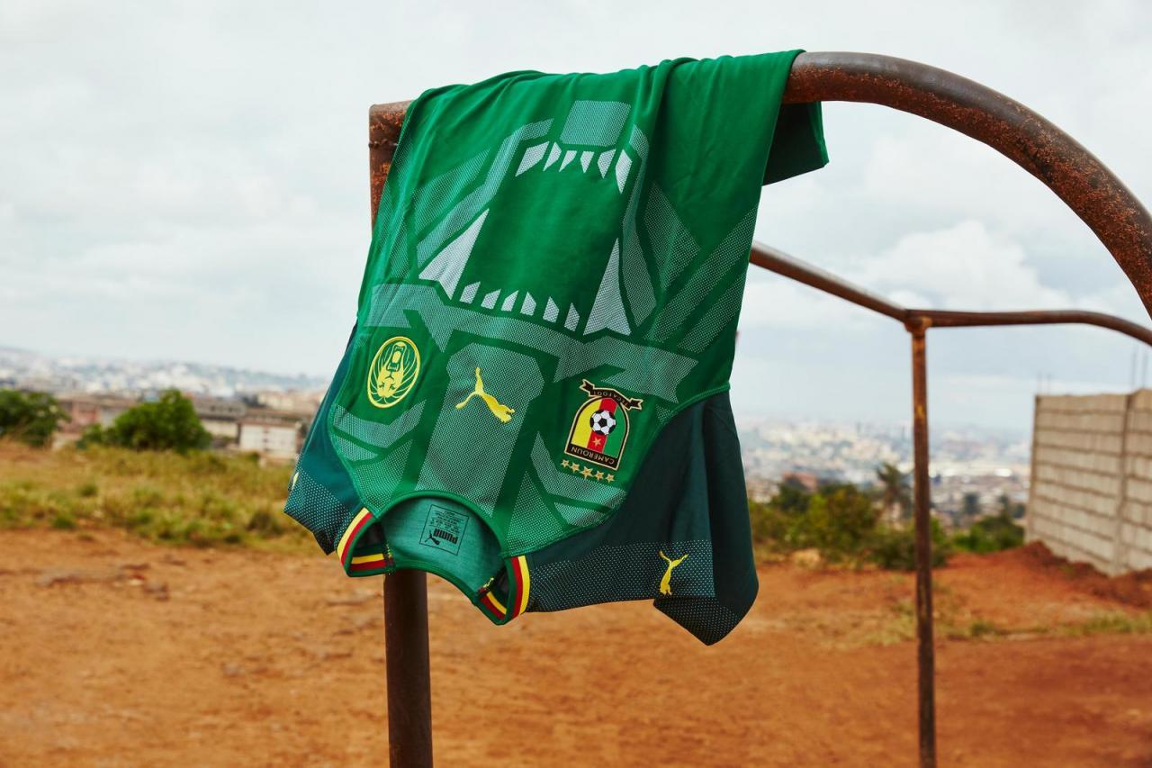 Cameroon 2018 Puma Home Kit Football Shirt