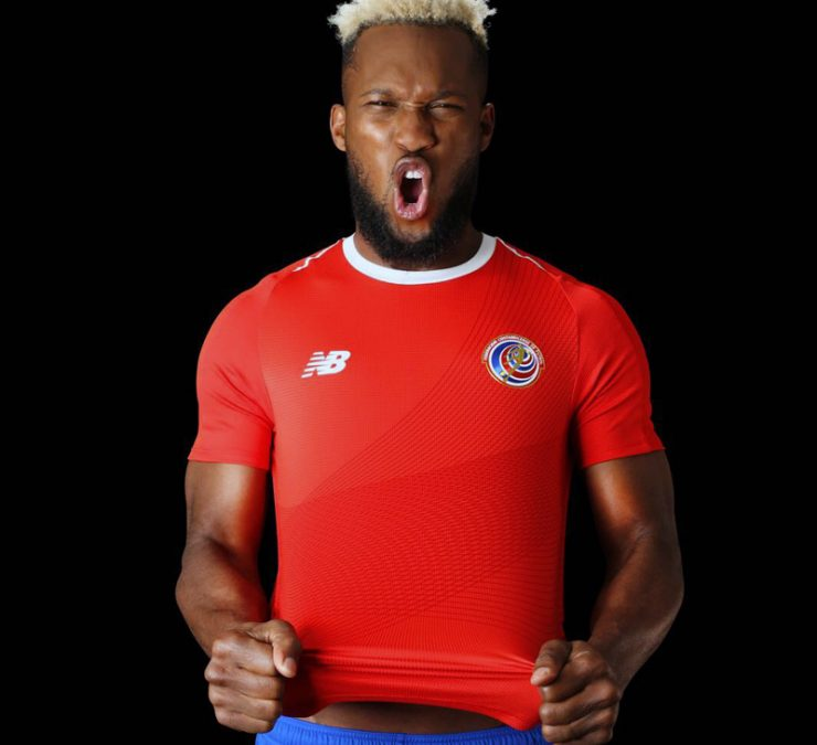 Costa Rica 2018 World Cup New Balance Home Kit