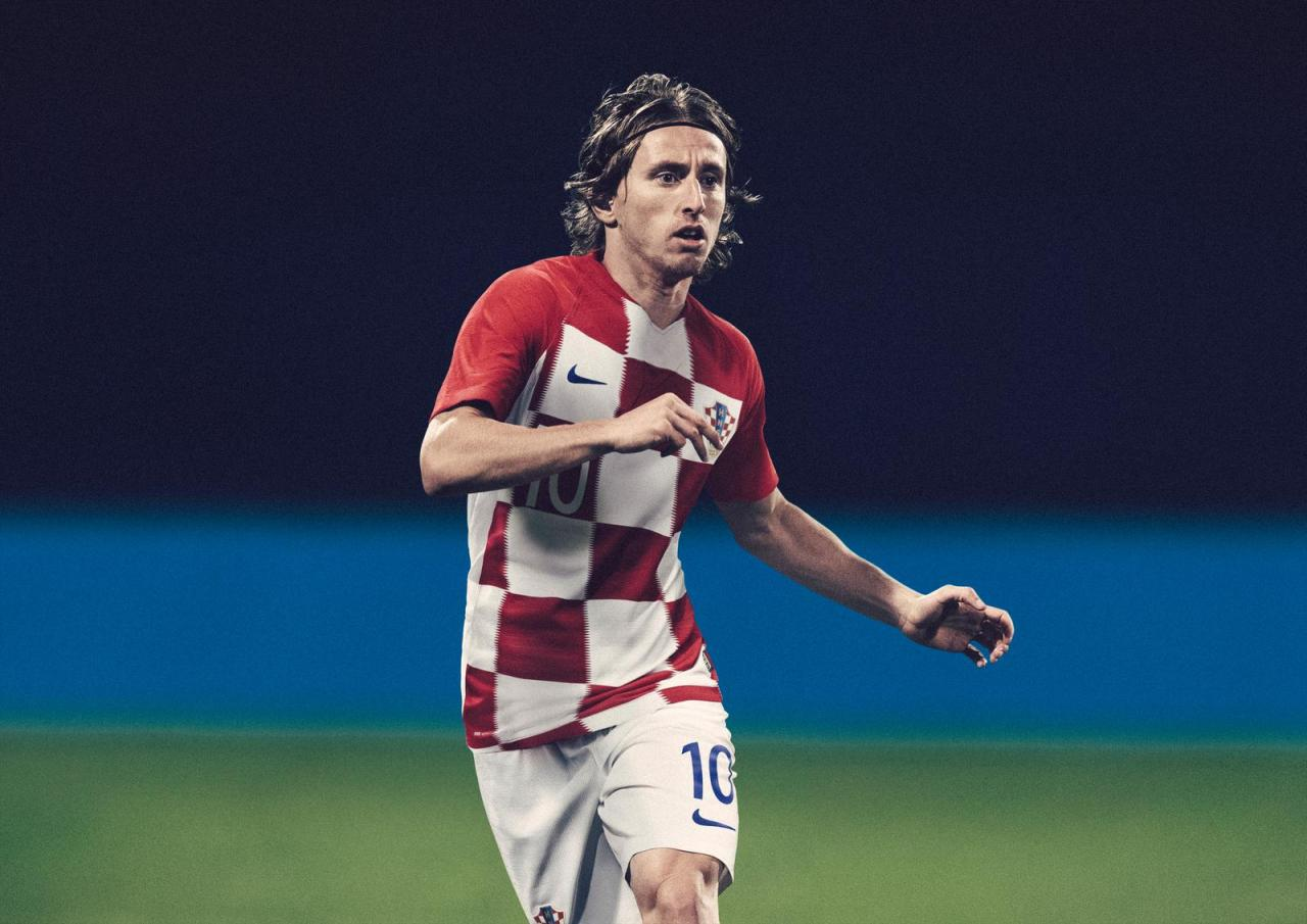 Croatia 2018 World Cup Nike Home Away Kit