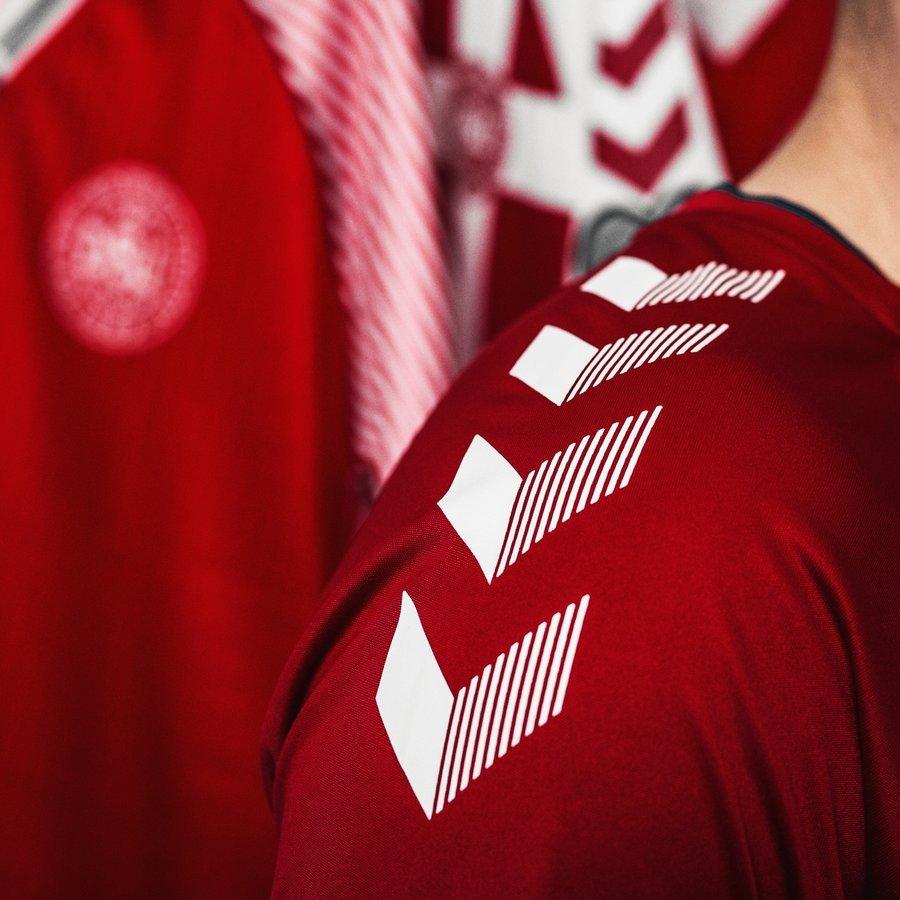 Denmark 2018 World Cup Hummel Home Kit Football Shirt