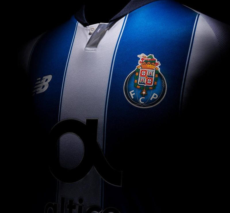 FC Porto 2018-19 New Balance Home Kit Football Shirt