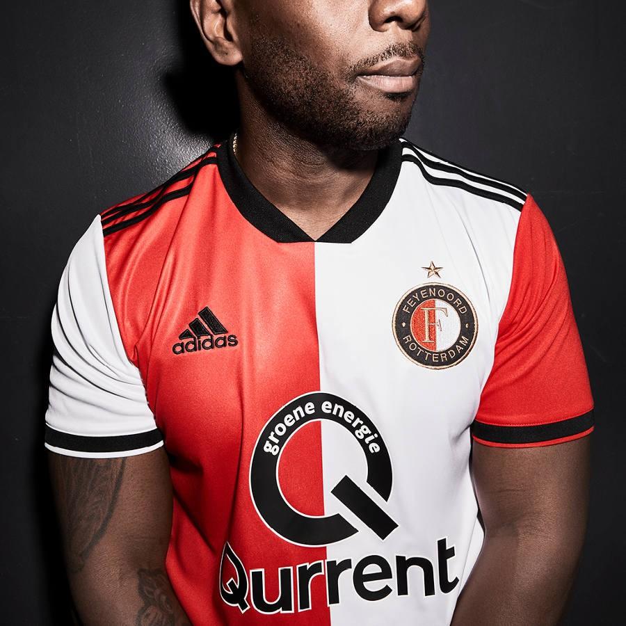 Feyenoord 2018/19 Adidas Home Kit Football Shirt