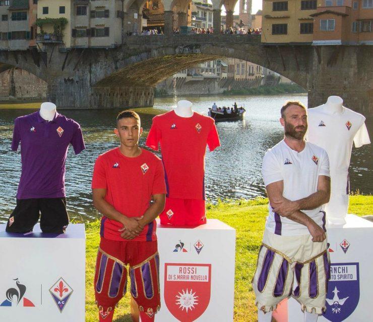 Fiorentina 2018/19 Le Coq Sportif Football Kits Shirts