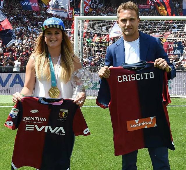 Genoa 2018-19  Lotto Home Kit Football Shirt