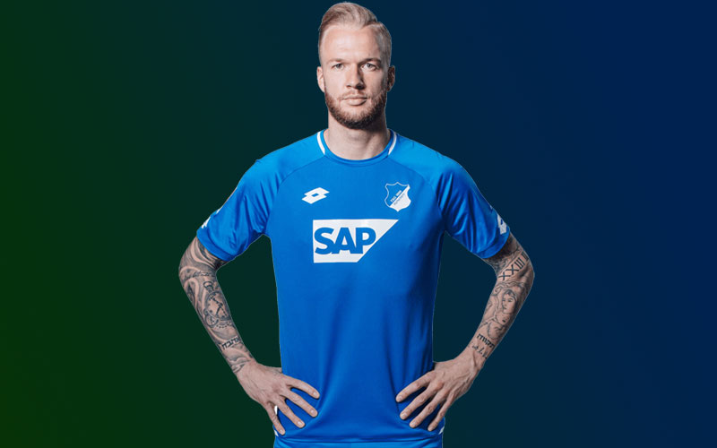 a4092f36db3 Hoffenheim 2018-19 Lotto Home Kit Football Shirt