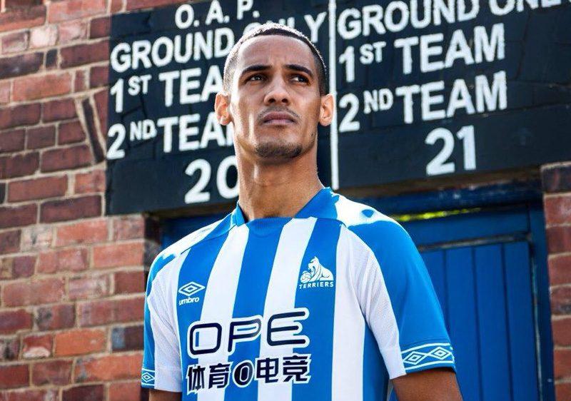 Huddersfield Town 2018-19 Umbro Home Kit Football Shirt