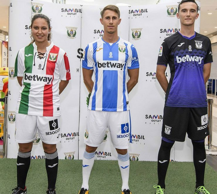 Leganes 2018-19 Joma Football Shirts