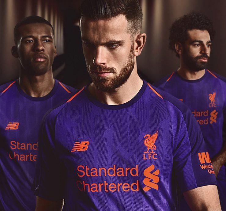 Liverpool 2018-19 New Balance Away Kit Football Shirt