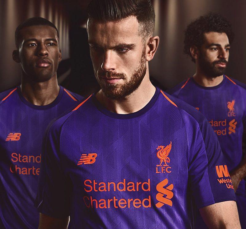 Liverpool Kit History 14: Liverpool 2018-19 Away Kit Football Shirt