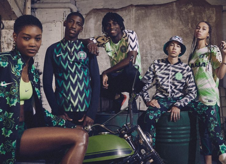 Nigeria 2018 World Cup Nike Home Kit Football Shirt
