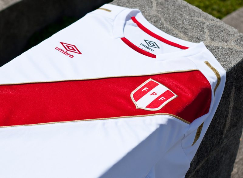 c83db9d14 Peru 2018 World Cup Umbro Home Away Kit