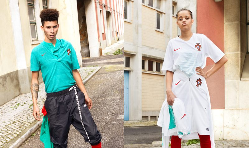 Portugal 2018 World Cup Nike Home Away Kit