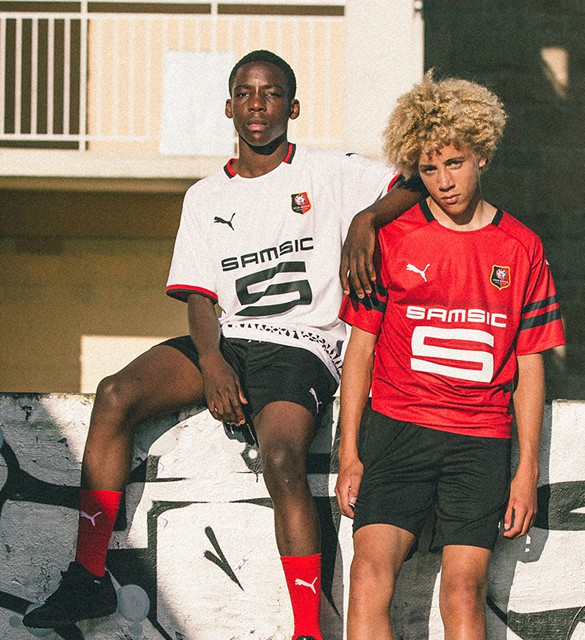 Rennes 2018-19 Puma Home Kit Football Shirt