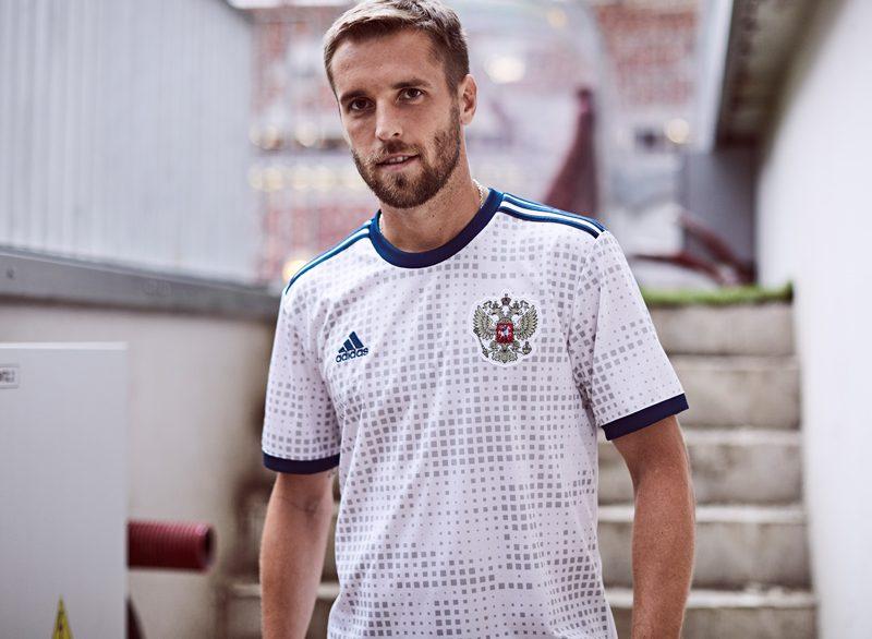 Russia 2018 World Cup Adidas Away Kit Football Shirt
