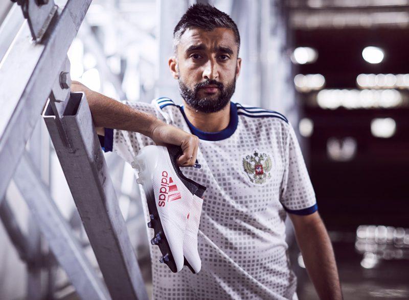 3e77b9be54f Russia 2018 World Cup Adidas Away Kit Football Shirt
