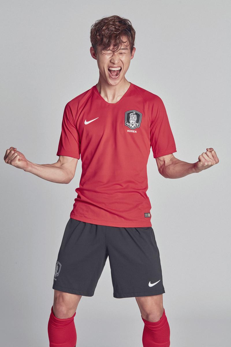 South Korea 2018 World Cup Nike Home Away Kit