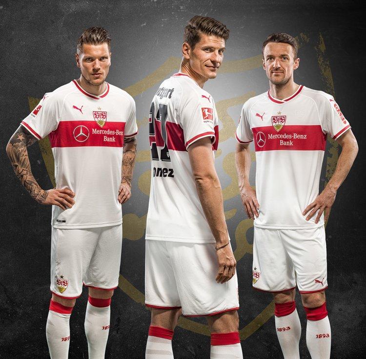 Stuttgart 2018-19 Puma Home Kit Football Shirt