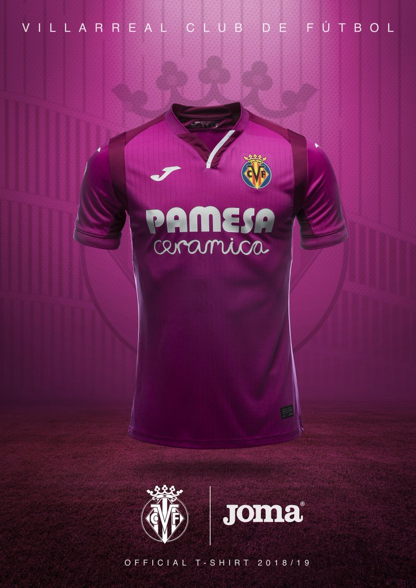 Villarreal 2018-19 Joma Home Away Kit