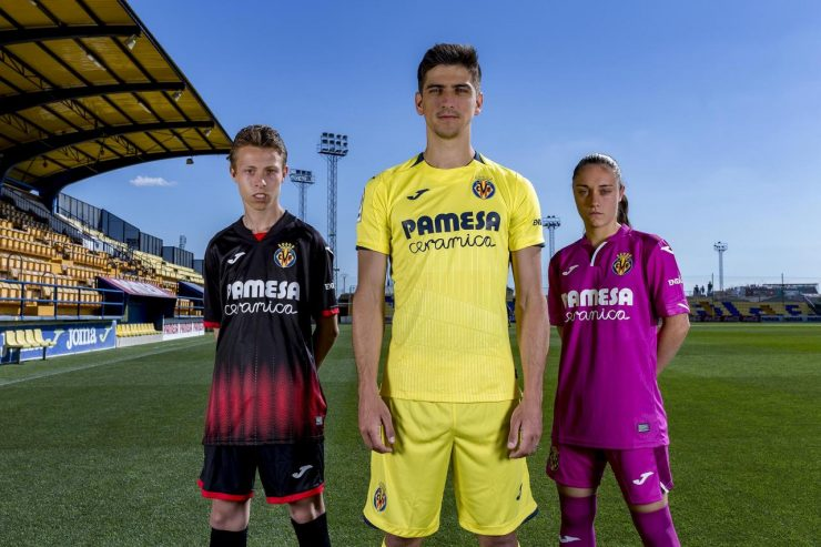 Villarreal 2018-19 Joma Home Away Kit
