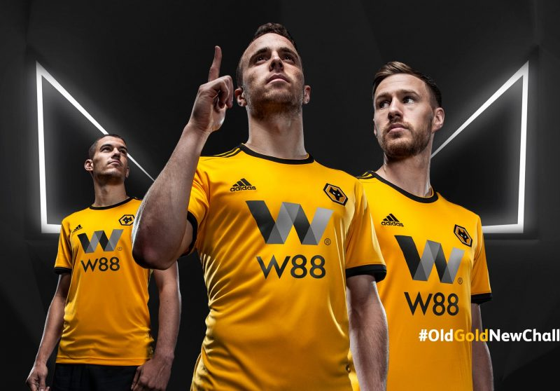 e82e991179a Wolves 2018-19 Adidas Home kit Football Shirt