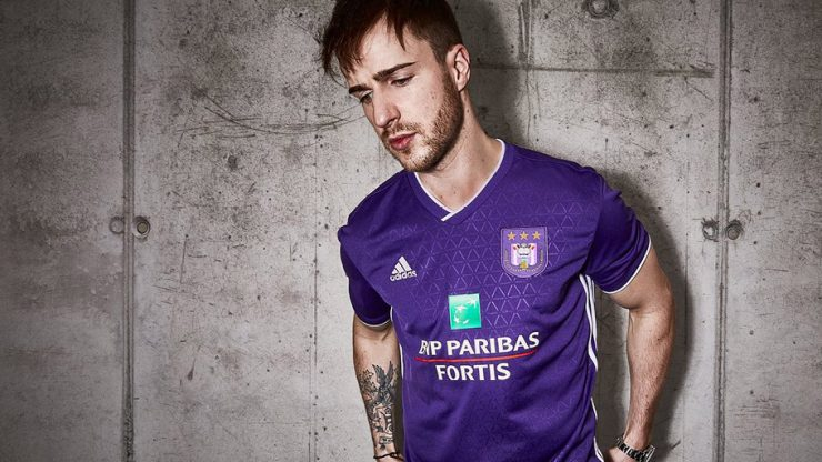 Anderlecht 2018-19 Adidas Home Kit