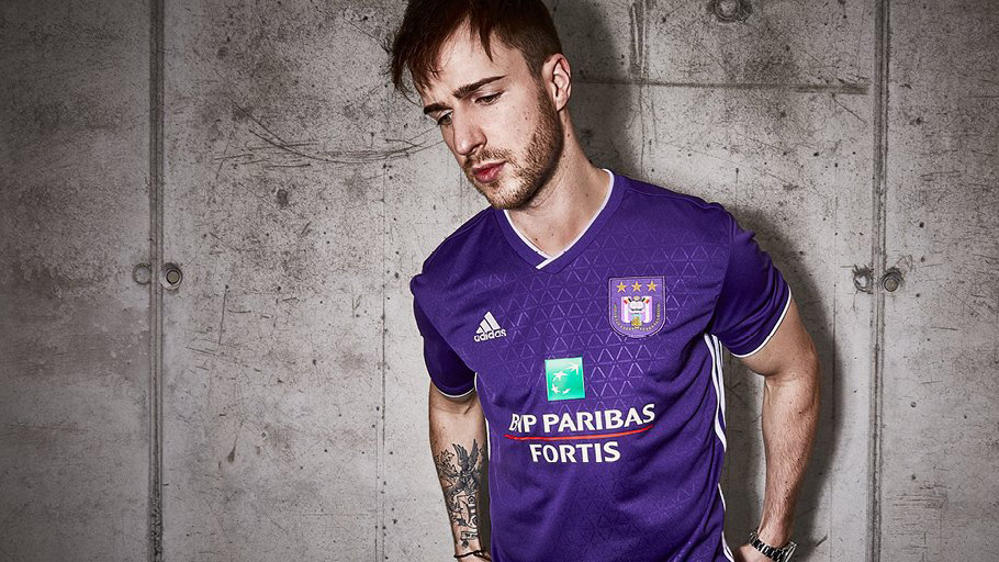 Anderlecht 2018-19 Adidas Home Kit