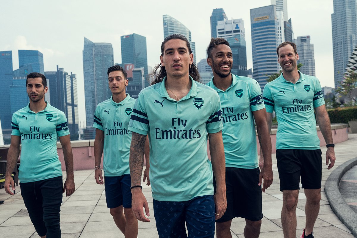 Arsenal 2018-19 Puma Third Kit