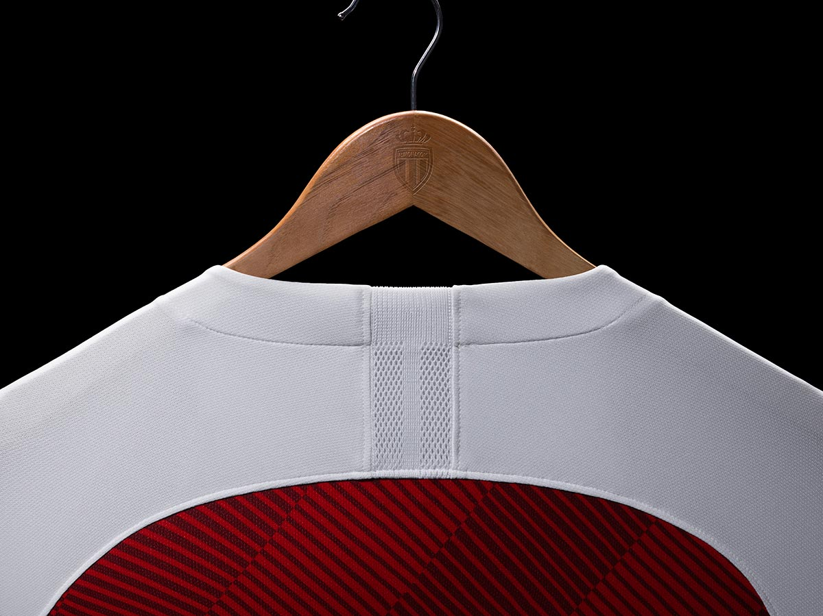 AS Monaco 2018-19 Nike Home Kit Football Shirt