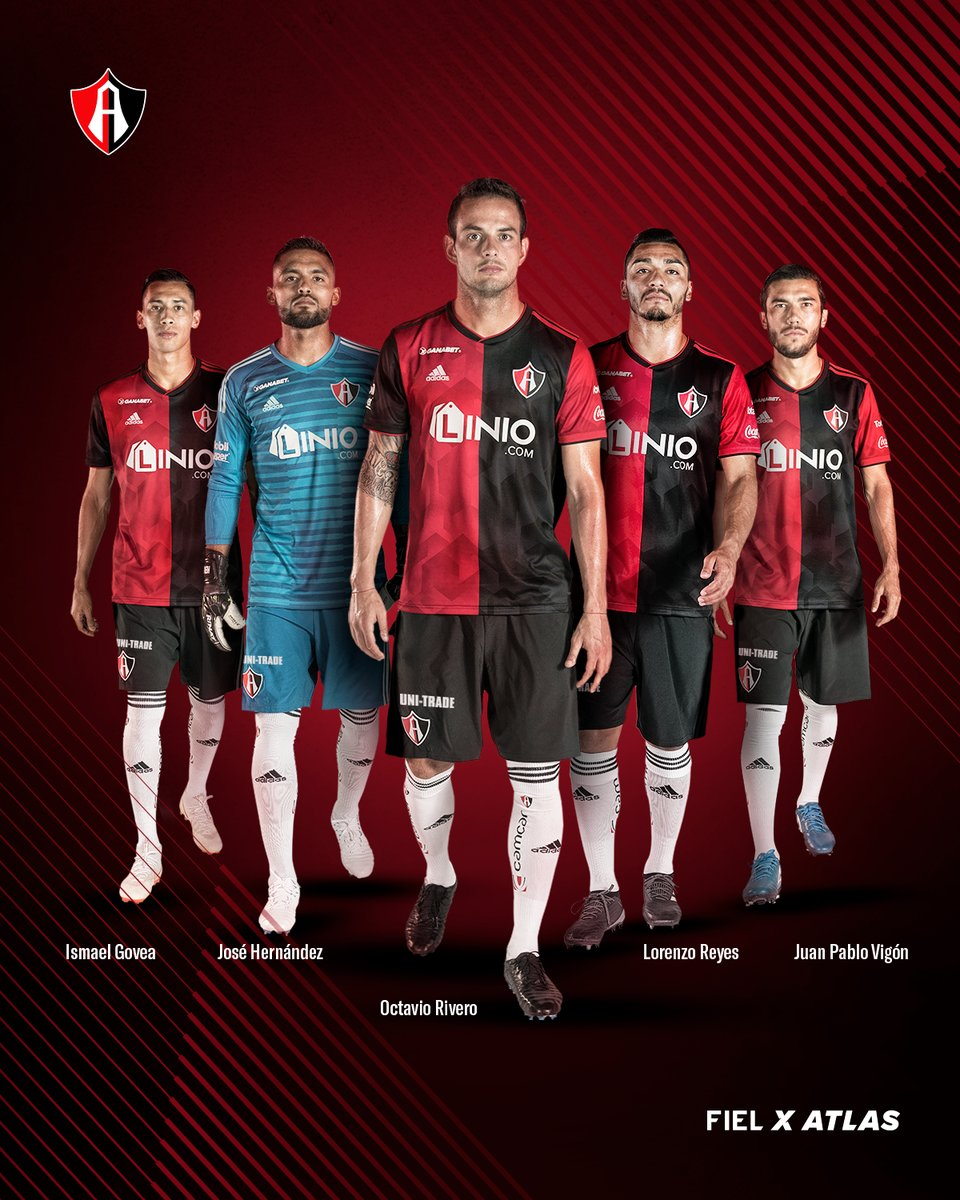 Atlas 2018-19 Adidas Home & Away Kits