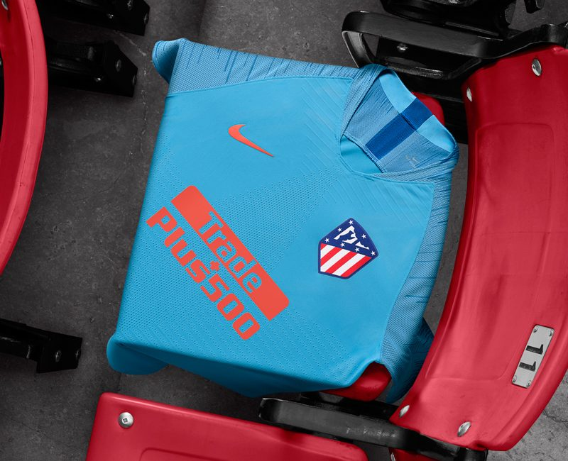 Atlético Madrid 2018-19 Nike Away Kits. The new Atlético Madrid 2018-2019  away jersey is bright blue ... ca229da72