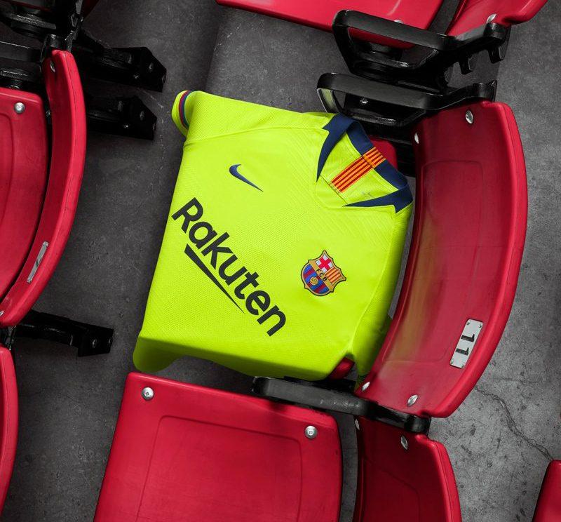 Barcelona 2018-19 Nike Away Kit Football Shirt