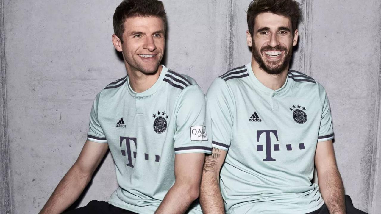 Bayern Munich 2018-19 Away Kit