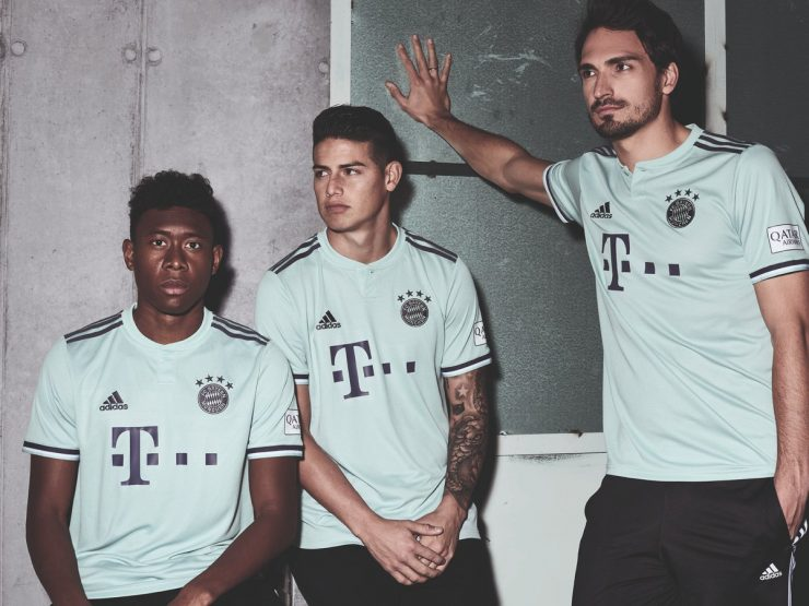Bayern Munich 2018-19 Away Kit