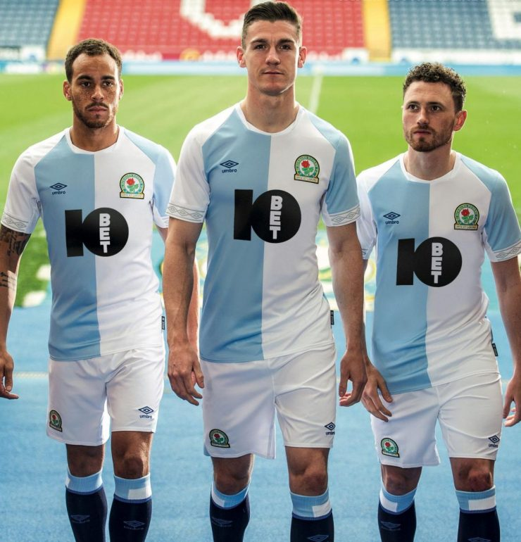 Blackburn Rovers 2018-19 Umbro Home Kit