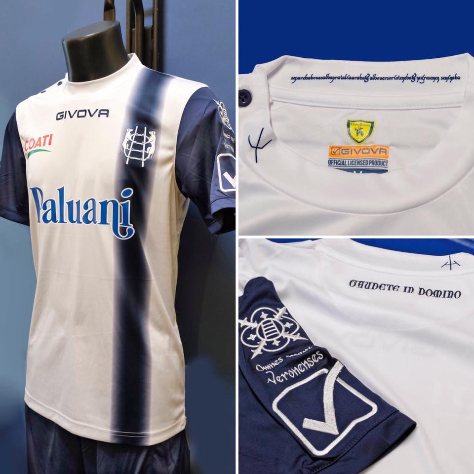 Chievo Verona 2018-19 Home Away & Third Kits