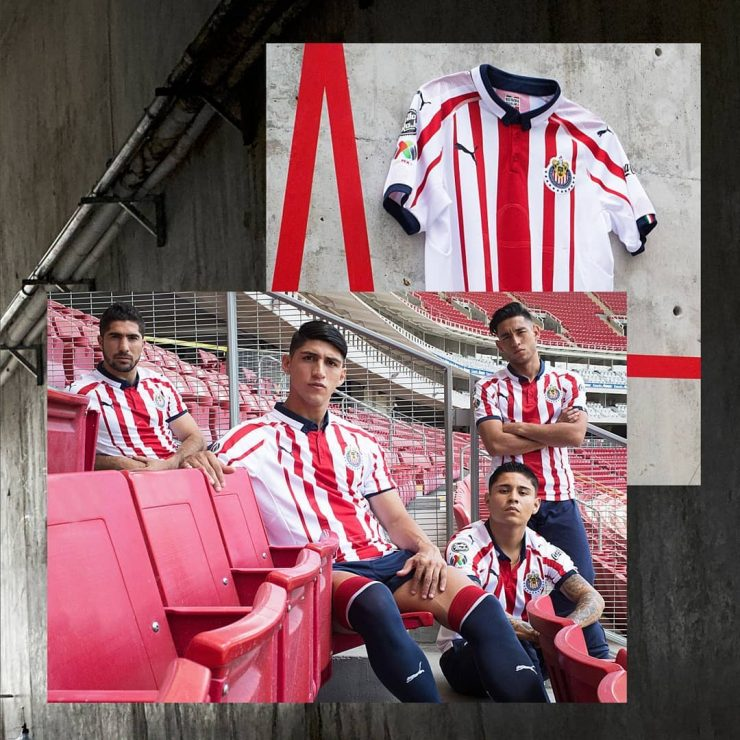 Chivas 2018-19 Home & Away Kits