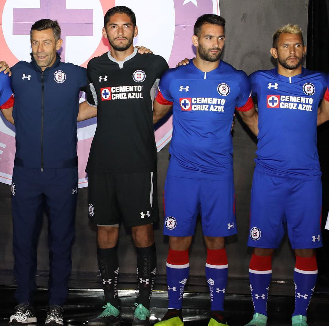 570642be856 Cruz Azul 18-19 Home, Away Third Kits | Football Shirt News