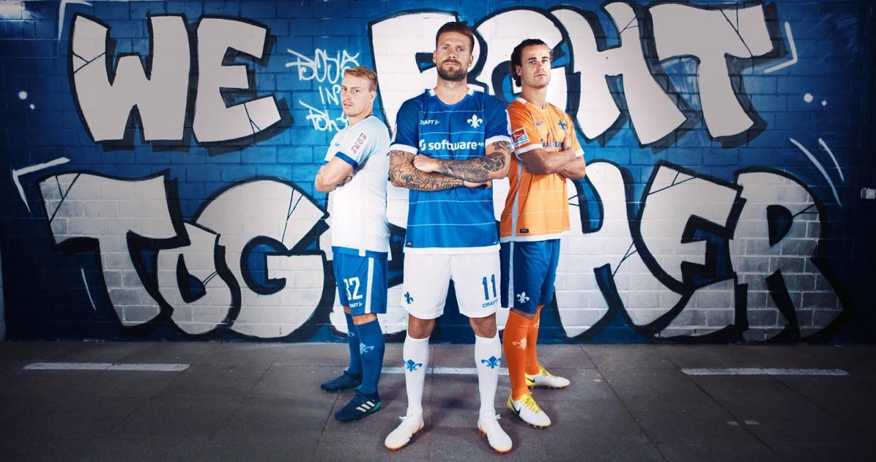 Darmstadt 2018-19 Craft Home Away & Third Kits