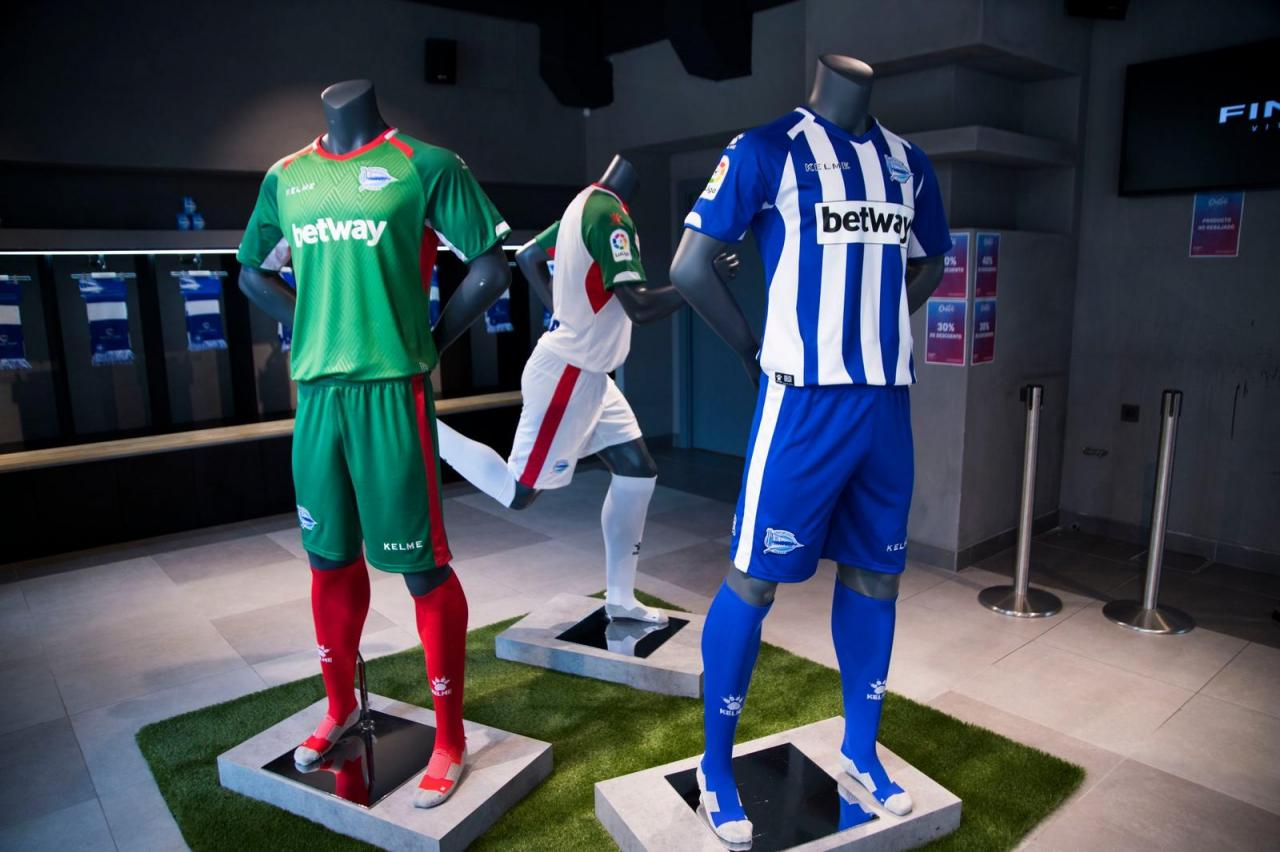 Deportivo Alavés 18-19 Home, Away & Third Kits