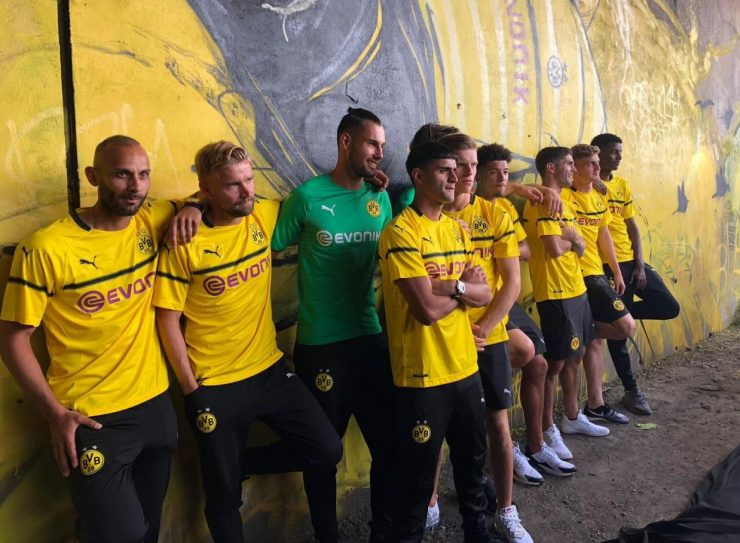 Dortmund 2018-19 Champions League Kits