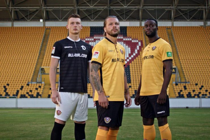 Dynamo Dresden 2018-19 Home & Away Kits