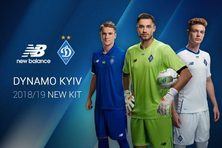 Dynamo Kiev 2018-19 New Balance Home & Away Kits